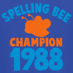 spelling bee champion 1988 super cute college shirt Hoodies - Men's T-Shirt by American Apparel