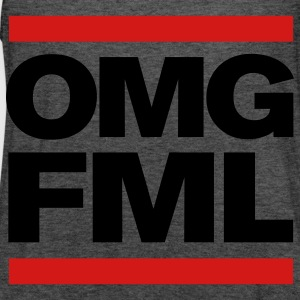 OMG FML girl's Tshirt - Women's Flowy Tank Top by Bella