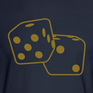 Roll the Dice Hoodies - Men's Long Sleeve T-Shirt