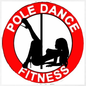 pole dance fitness hoodie (white/2 prints) - Men's T-Shirt