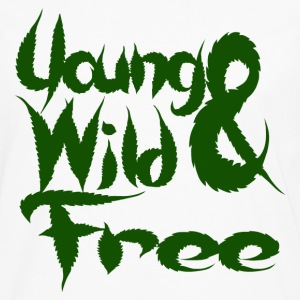 Young Wild and Free Hoodies - Men's Premium Long Sleeve T-Shirt