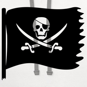 pirate flag T-Shirts - Contrast Hoodie