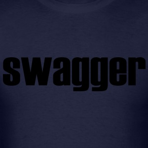 Black Swagger T-Shirt - Men's T-Shirt