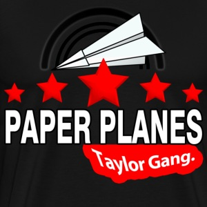 Paper Planes Hoodies - Men's Premium T-Shirt