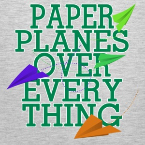 Paper Planes Long Sleeve Shirts - Men's Premium Tank