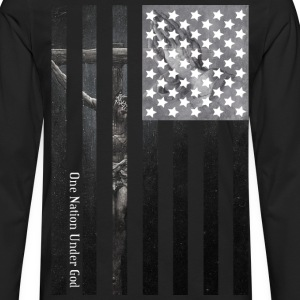 One Nation Under God - Men's Premium Long Sleeve T-Shirt