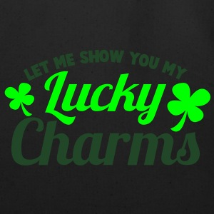 LET ME SHOW you my Lucky Charms with a shamrock Long Sleeve Shirts - Eco-Friendly Cotton Tote