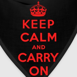 Keep Calm and Carry On T-Shirt - Bandana