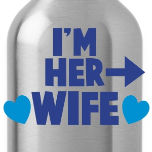 I'm her WIFE right arrow Women's T-Shirts - Water Bottle