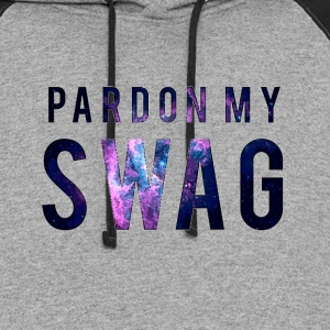 PARDON MY SWAG T-Shirts - Colorblock Hoodie