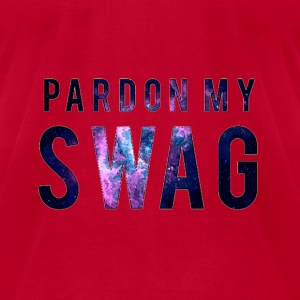 PARDON MY SWAG Long Sleeve Shirts - Men's T-Shirt by American Apparel