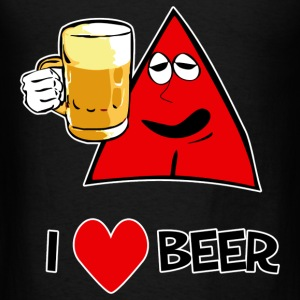 I Love Beer Tote Bag - Men's T-Shirt