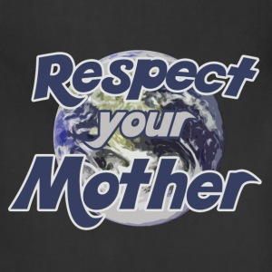 Respect earth day - Adjustable Apron