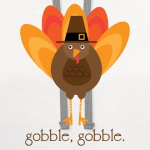 Gobble, gobble. Long Sleeve Shirts - Contrast Hoodie