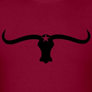 Western Styled Bull / Taurus Design Hoodies - Men's T-Shirt