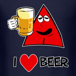 I Love Beer Ice Cold - Men's T-Shirt