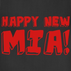 HAPPY NEW MIA! / Neon Pink - Adjustable Apron