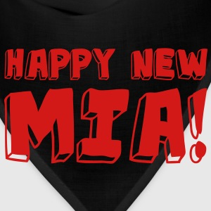 HAPPY NEW MIA! / Neon Pink - Bandana