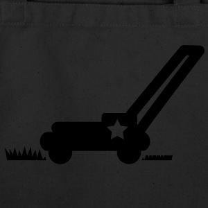LAWN mower cutting grass with a star T-Shirts - Eco-Friendly Cotton Tote
