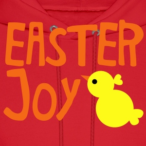 EASTER JOY with cute little chick chicken for the season Kids' Shirts - Men's Hoodie