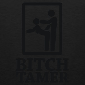 Bitch Tamer Sign 1c T-Shirts - Men's Premium Tank