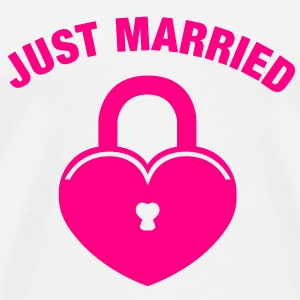 just married  Tanks - Men's Premium T-Shirt