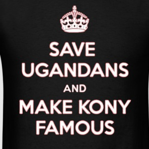 Save Ugandas. Hoodies - Men's T-Shirt