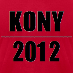 Stop Kony 2012 Joseph Kony Invisible Children Hoodies - Men's T-Shirt by American Apparel