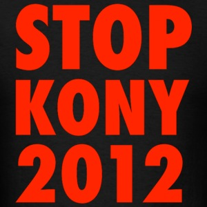 KONY 2012 STOP KONY SWEATSHIRT UGANDA INVISIBLE CHILDREN HELP THE CAUSE - Men's T-Shirt