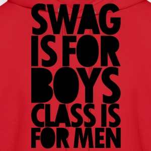 SWAG IS FOR BOYS Long Sleeve Shirts - Men's Hoodie