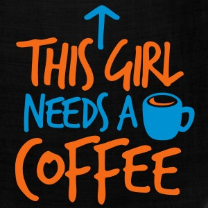 THIS GIRL NEEDS A DRINK of COFFEE T-Shirts - Bandana