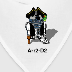 Pirate Droid Arr2-D2 T Shirt for fans of Star Wars - Bandana