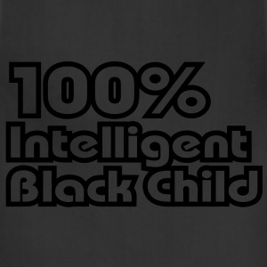 100% Intelligent Black Child / Glow in the Dark Ki - Adjustable Apron