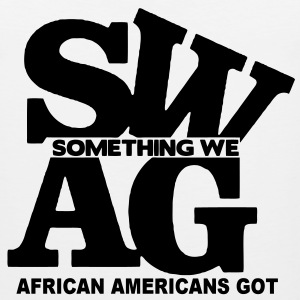 SWAG: SOMETHING WE AFRICAN AMERICANS GOT - Men's Premium Tank
