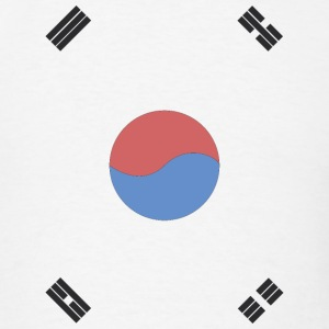 South Korea Flag Hoodies - Men's T-Shirt