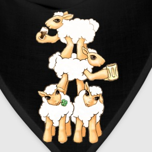Sheeps celebrating Patrick's Day Bags  - Bandana