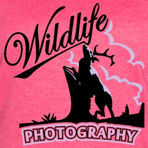 wildlife photography (2c) Tanks - Women's Vintage Sport T-Shirt