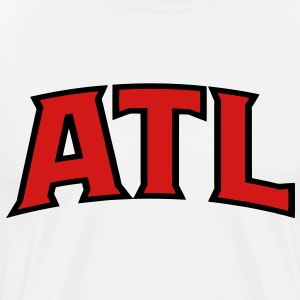 ATL Hoodies - Men's Premium T-Shirt