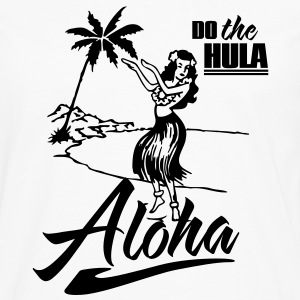 aloha - do the hula Tanks - Men's Premium Long Sleeve T-Shirt