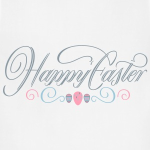 Women's Happy Easter Shirt - Adjustable Apron