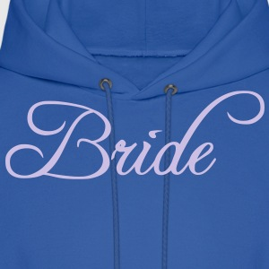 Fun Silver Grey Bride Text Word Graphic Design for Bachelor Parties, Hen Party, Stag and Does, Bridal Party and Wedding Showers TShirts Women's T-Shirts - Men's Hoodie