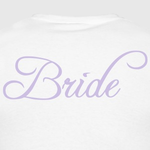 Fun Silver Grey Bride Text Word Graphic Design for Bachelor Parties, Hen Party, Stag and Does, Bridal Party and Wedding Showers TShirts Hoodies - Men's T-Shirt