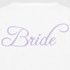 Fun Silver Grey Bride Text Word Graphic Design for Bachelor Parties, Hen Party, Stag and Does, Bridal Party and Wedding Showers TShirts Hoodies - Men's Premium Tank