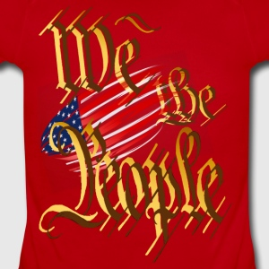 We The People - Short Sleeve Baby Bodysuit