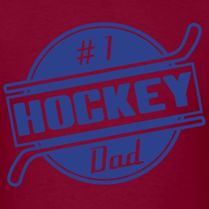 #1 Hockey Dad Hoodies - Men's T-Shirt