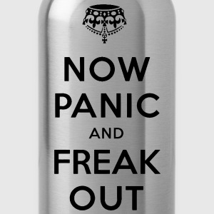 Now Panic and Freak Out Tee - Water Bottle