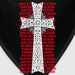Cross Name of Jesus Christ in different languagest - Bandana