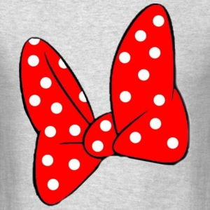 Minnie's Bow Long Sleeve Shirts - Men's T-Shirt