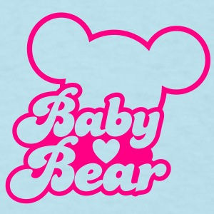 BABY BEAR (new) with teddy shape Baby Bodysuits - Men's T-Shirt