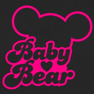 BABY BEAR (new) with teddy shape Women's T-Shirts - Men's Premium Long Sleeve T-Shirt